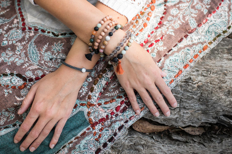 Mala and Mantra Mindful Hands